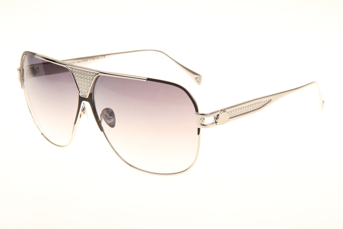 MBH The Player Sunglasses In Silver Gradient Grey